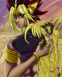 The Lion and The Pharaoh by Hiiros