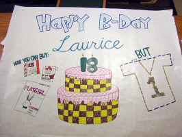 Happy Bday Laurice by HitomiAizeru
