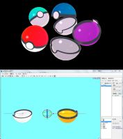 NEW POKEBALL MMD DOWNLOAD by Hack-Girl