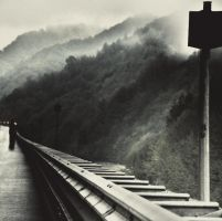 a road to my thoughts .. by CanDaN