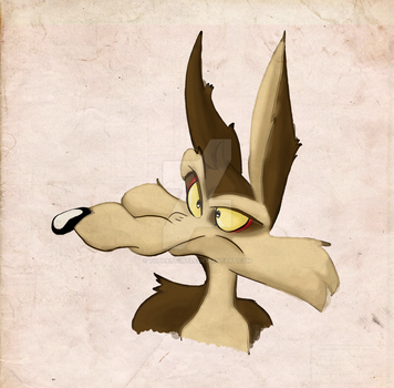 Wile. E Coyote by TopHatTurtle
