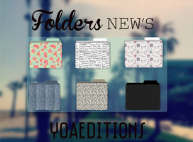 Folders New's by yoaeditions