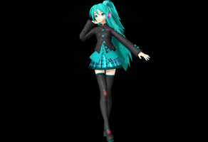 Alternative Miku by WeFede
