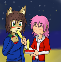 Corn dog. by RaxkiYamato
