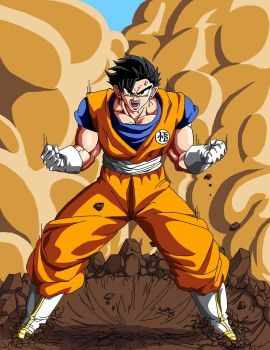 Gohen oc by Soberbroly