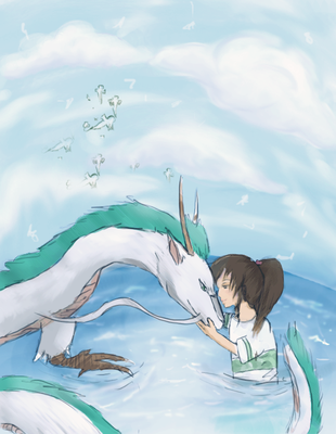 Spirited Away by pandachooo