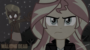 The Walking dead Sunset shimmer by ngrycritic