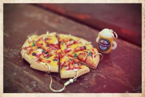 pizza-beer by maryazzfire