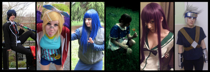 Cosplays of 2013 by BluePandaCosplay