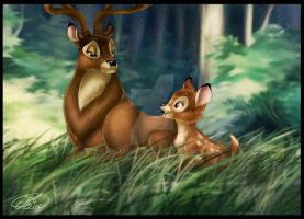 Bambi by Mallemagic