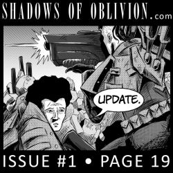 Shadows of Oblivion #1 p19 update by Shono