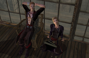 Lloyd and Linus FE Sims by Prince-Stephen