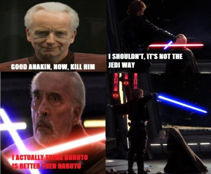 TGRebel Fan-Dumb Memes - Star Wars and Naruto by TGrebel2