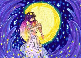 Moon girl by kathe-cat