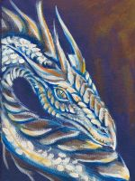 White Dragon Sketchbook by AmberHallows