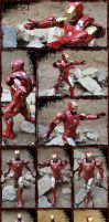 IRON MAN Ready for battle! by BRSpidey