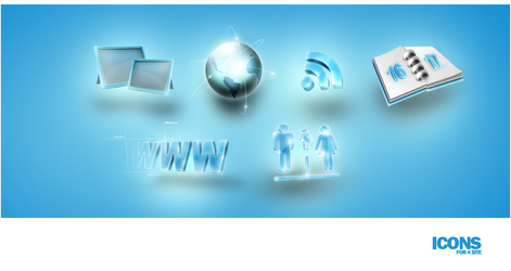 Web icons 01 by Elvis57