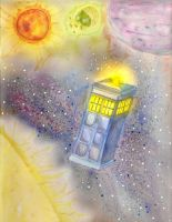 Doctor Who - Tardis by 13jellybean