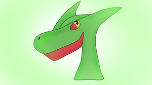 Sceptile by FlameNelson