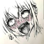 Ahegao face by Khov97