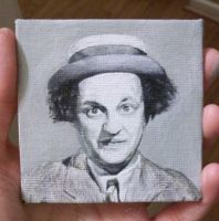 WORK IN PROGRESS: Larry (The Three Stooges) by TinyAna