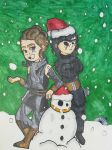 Merry Star Wars Christmas by Ncid
