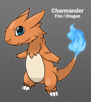 PkMn Purple: Charmander Redesign by Midnitez-REMIX