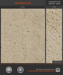 Sand Pattern 3.0 by Sed-rah-Stock
