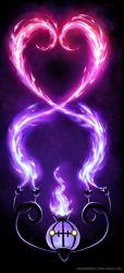 Chandelure Loves You by arkeis-pokemon