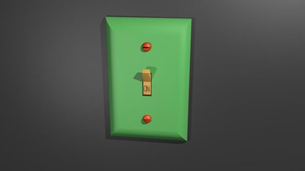 Weekly Two: Light Switch by shadow-chameleon