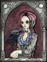 Lenore and the Raven by concettasdesigns
