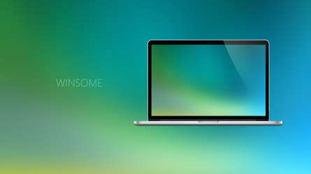WINSOME - Coloured Expression Wallpapers by Ecstrap