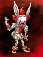 Pennywise the bad bunny by Neokelion