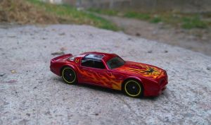 77 Pontiac Firebird by MannuelAlegria