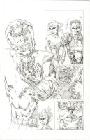 Namor pencil samples by drawhard