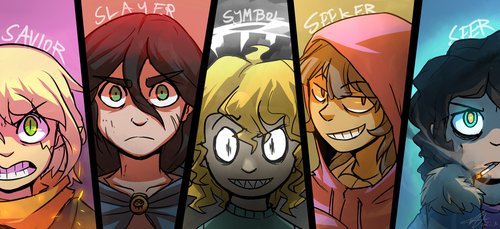 The Five by stupidyou3