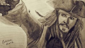 Captain Jack Sparrow by gilly15