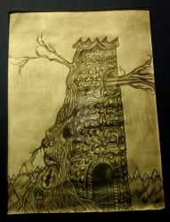 Tower - Pencil by NTWooden
