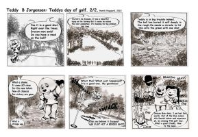 Teddys day of golf page2 by artlinerscum