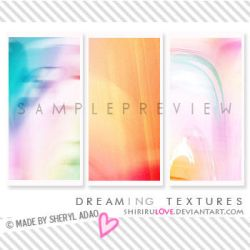 Large Textures: Dreaming by shirirul0ve