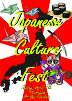Japanese Culture Fest Poster by InuMimi