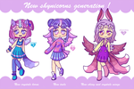 New shynicorns generation (3/3 OPEN) by Super-Gabou