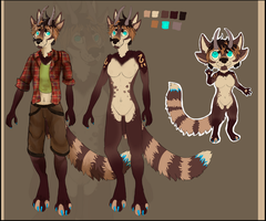 Character design and Art Auction [CLOSED] by Advance-Rain