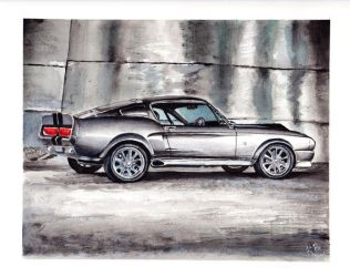 Eleanor - Shelby GT500 by KerovinBlack