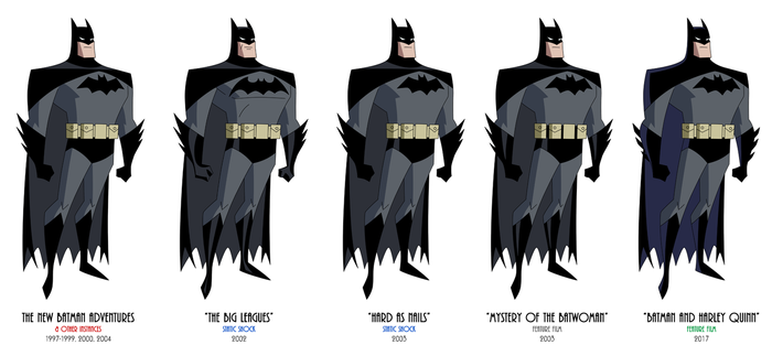Batman - TNBA Variations by JTSEntertainment