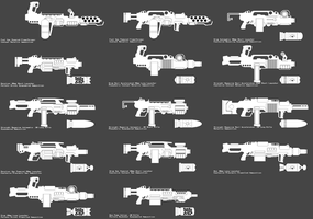 Generated Weapons by Zip101