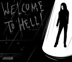 Hollow Girl - Welcome to Hell by Midwinter-Creations
