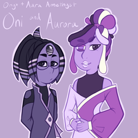 [CB] Oni and Aurora by TheZodiacLord