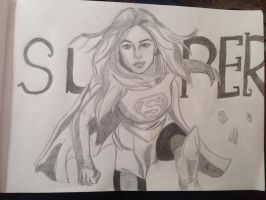 Super girl by CCheryl