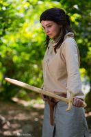 Arya Stark of Winterfell by straychild77
